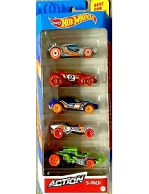 Pack 5 Carros - Action