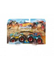 Pack 2 Carros Monster Trucks - Raijyu Vs. Kovmori