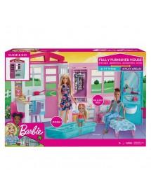 Barbie Casa Mobilada Com Boneca