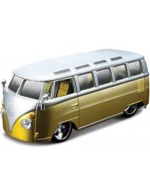 """Volkswagen Van """"Samba"""" 1:32 - Dourado"""