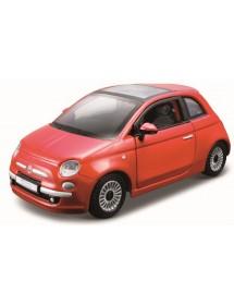 Fiat 500 1:32 - Vermelho