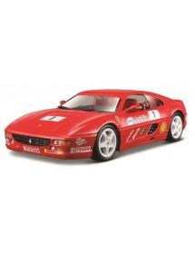 Ferrari Racing F355 Challenge 1:24 - Vermelho