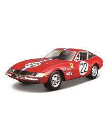 Ferrari Racing 365 GTB4 Competizione 1ª Série 1:24 - Vermelho