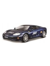 Ferrari Racing 360 Challeng 1:24 - Azul