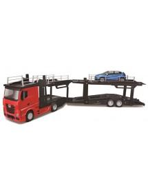 Mercedes-Benz Actros Multicar Carrier Com Renault Captur 1:43