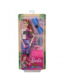 Barbie Fitness Com Cachorrinho e 9 Acessórios