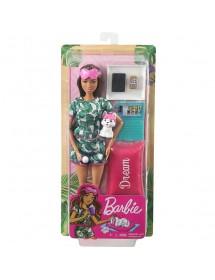 Barbie Relaxamento Com Cachorrinho e 8 Acessórios
