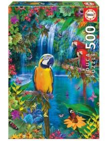 Puzzle 500 peças - Paraíso Tropical