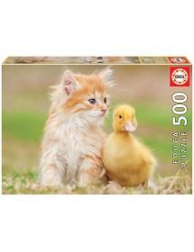 Puzzle 500 Peças - Amigos Adoráveis