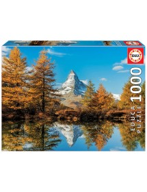 Puzzle 1000 Peças - Monte Cervino no Outono