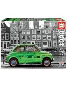 Puzzle 1000 Peças - Carro em Amesterdão