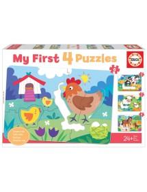 Puzzle Mães e Bebés