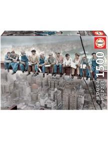 Puzzle 1500 Peças - Almoço em Nova Iorque
