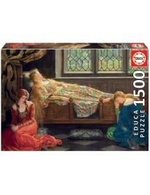 Puzzle 1500 Peças - A Bela Adormecida, John Collier