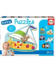 Baby Puzzles - Veículos
