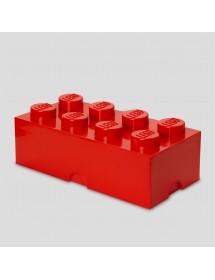 Caixa de Arrumação Vermelha - 8 Brick
