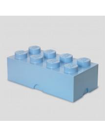Caixa de Arrumação Azul Clara - 8 Brick