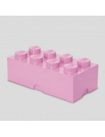 Caixa de Arrumação Rosa Clara - 8 Brick
