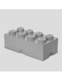 Caixa de Arrumação Cinzenta - 8 Brick