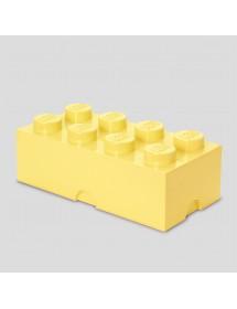 Caixa de Arrumação Amarela Clara - 8 Brick