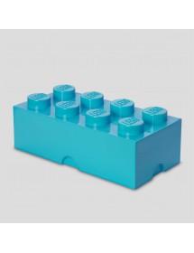 Caixa de Arrumação Azul Mar - 8 Brick