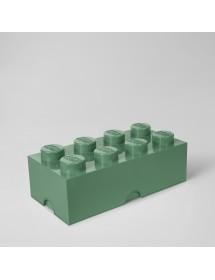 Caixa de Arrumação Verde Selva - 8 Brick