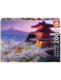 Puzzle 2000 Peças - Monte Fuji, Japão