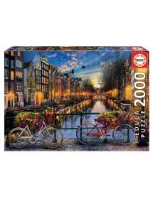 Puzzle 2000 Peças - Amesterdão