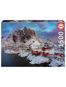 Puzzle 1500 Peças - Ilhas Lofoten, Noruega