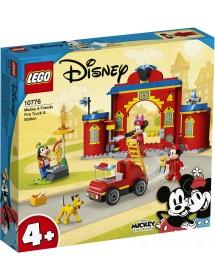 Camião e Quartel de Bombeiros do Mickey e Amigos
