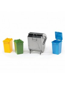 Contentores do Lixo - 3 Pequenos + 1 Grande