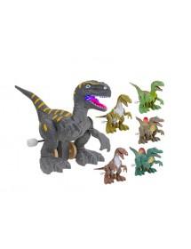 Dinossauro de Corda Com Luz (Sortido)