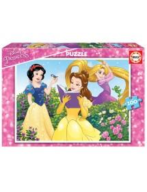 Puzzle 100 peças - Princesas Disney