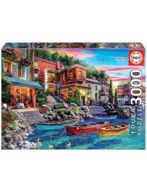Puzzle 3000 Peças - Pôr do Sol em Como