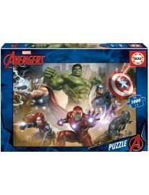 Puzzle 1000 Peças - Os Vingadores
