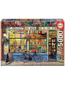 Puzzle 5000 Peças - A Melhor Livraria do Mundo