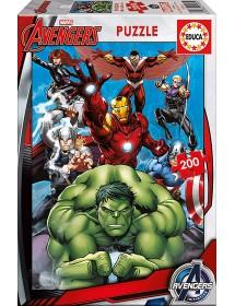 Puzzle 200 Peças - Avengers