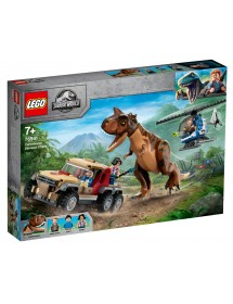 Perseguição do Dinossauro Carnotaurus