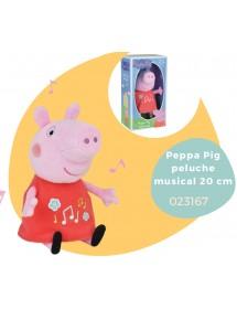 Peluche Musical Porquinha Peppa (20cm)