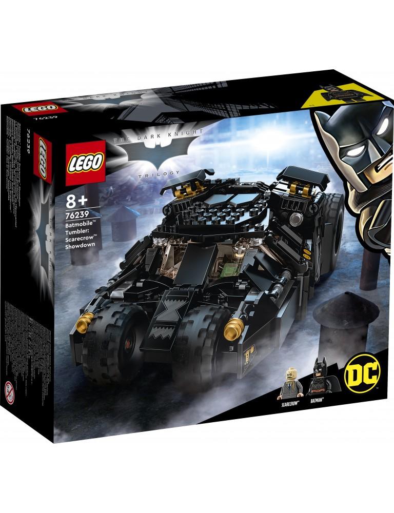 Batmobile™ Tumbler: Confronto com Scarecrow™