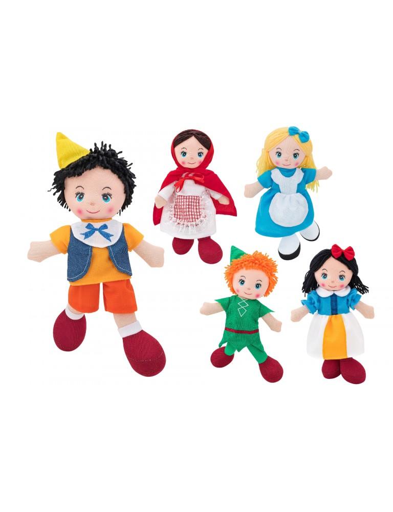Bonecos de Pano Histórias de Encantar (30cm) - Vários Modelos