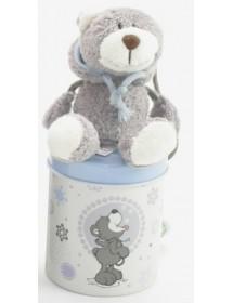 Caixa com Urso com Capuz (7cm)