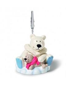 Urso Polar & Foca - Porta Fotos com Pinça