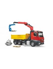 MB Aroccs Camião de Obras com Grua