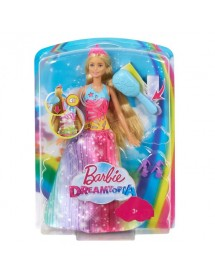 Barbie Princesa Penteia e Brilha