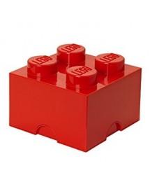 Caixa de Arrumação Vermelha - 4 Brick