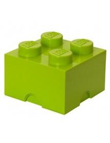 Caixa de Arrumação Verde Lima - 4 Brick
