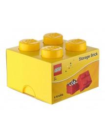 Caixa de Arrumação Amarela - 4 Brick