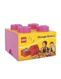 Caixa de Arrumação Rosa - 4 Brick