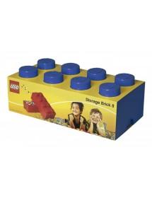 Caixa de Arrumação Azul - 8 Brick